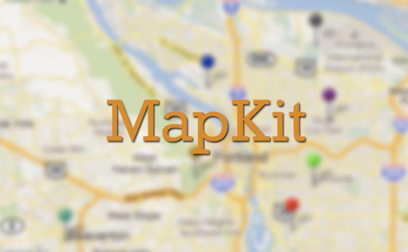 Познакомимся с MapKit
