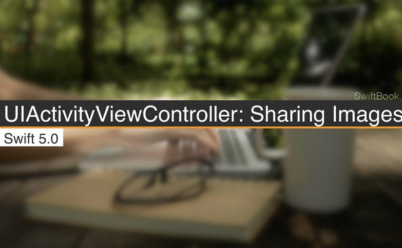 UIActivityViewController: Sharing Images on Other Apps