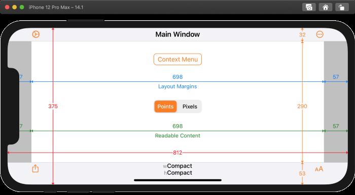 Как iOS приложения адаптируются к разным размерам экрана iPhone 12