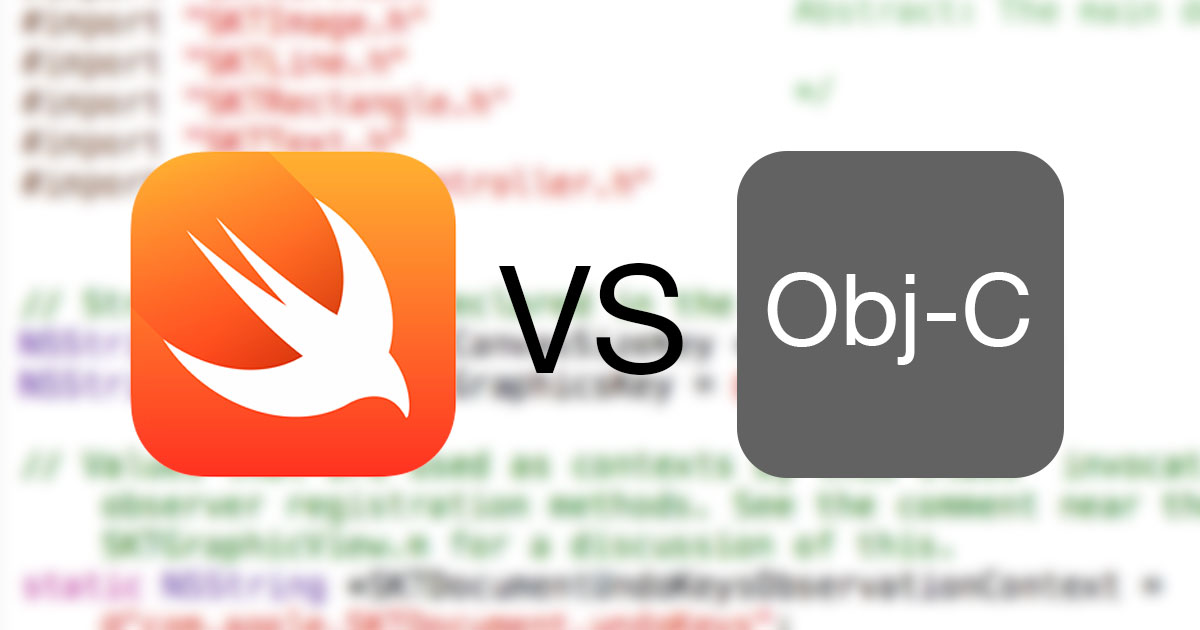 Swift против Objective-C